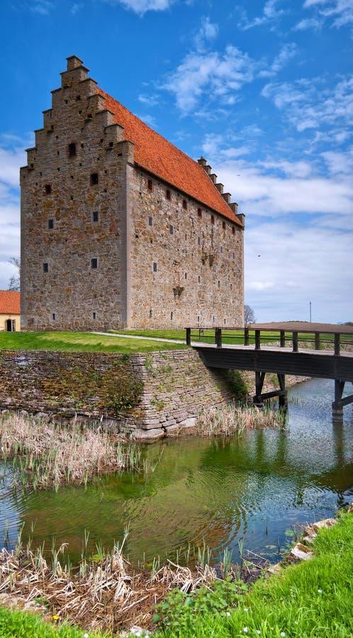 Panorama 09 del castillo de Glimmingehus foto de archivo libre de regalías
