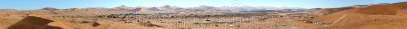 Panorama 1 de Sossusvlei fotos de archivo libres de regalías