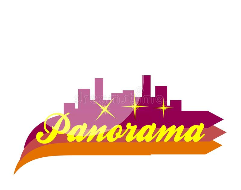 Panorama photo stock