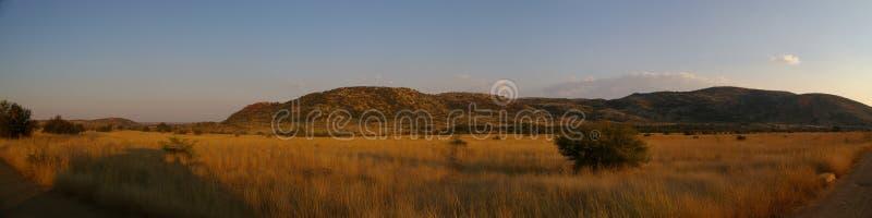 Panorama africano imagenes de archivo