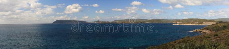 Panorama Albany zatoki zachodnia australia obrazy royalty free