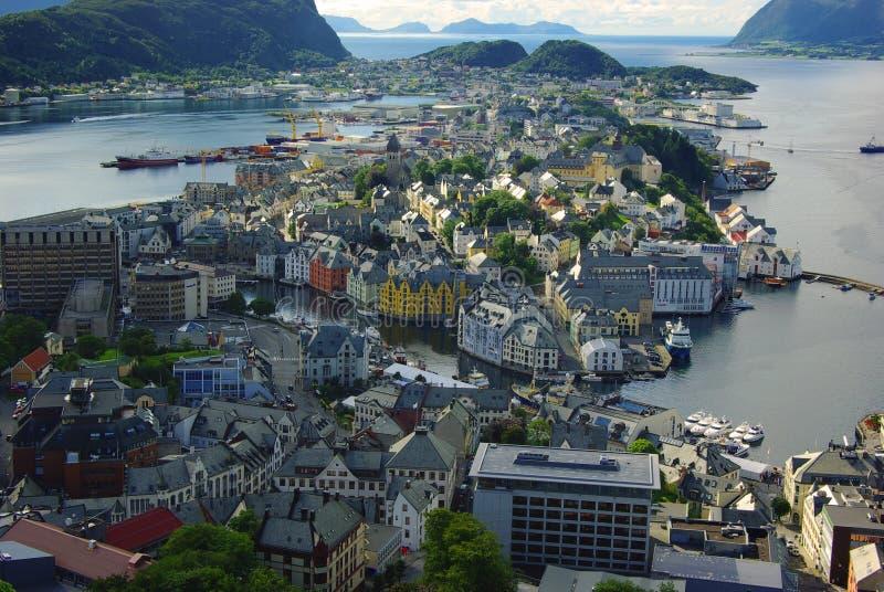 Download Panorama Of Alesund, Norway Stock Image - Image: 16472711