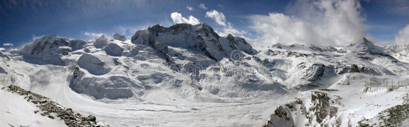 Panorama alpestre suisse image libre de droits