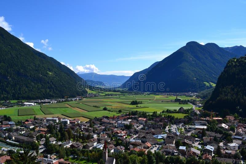 Panorama alpino stockbilder
