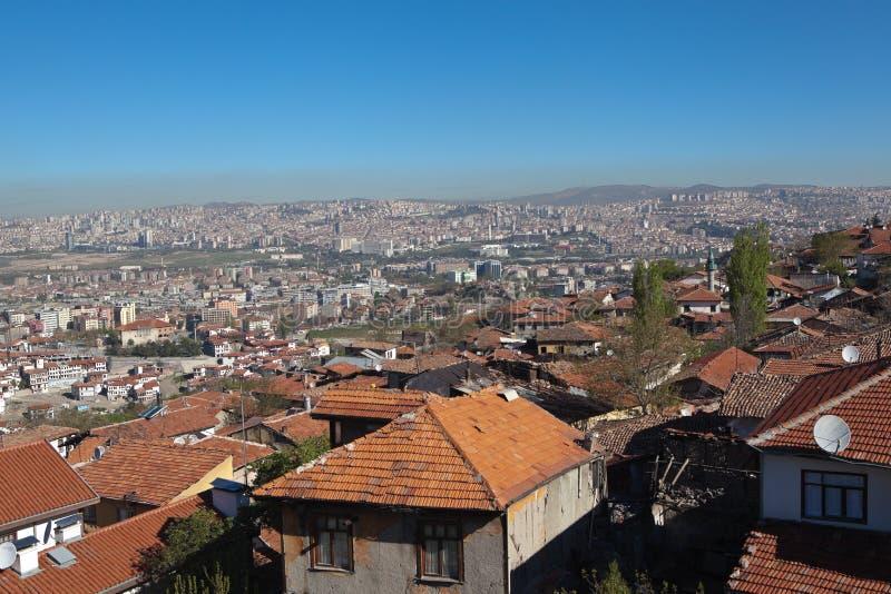 Panorama Ankara indyk obraz stock