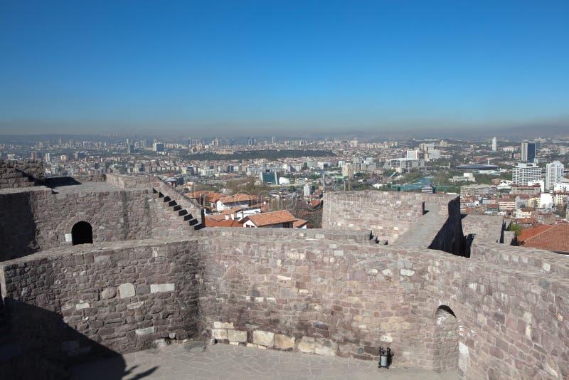 Panorama Ankara indyk fotografia stock