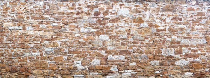 Panorama antyczna ściana obraz stock