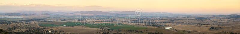 Panorama australiano del país fotografía de archivo libre de regalías