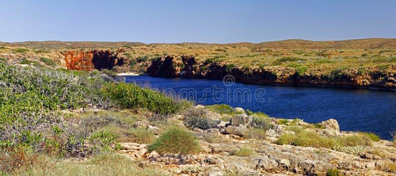 Panorama- australisk klyfta för landskapYardieliten vik i udden R arkivfoto