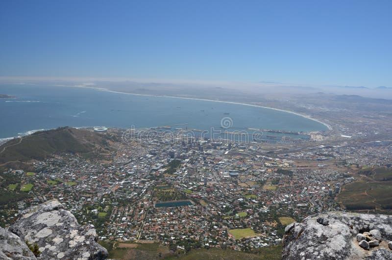 Panorama av Cape Town royaltyfri bild