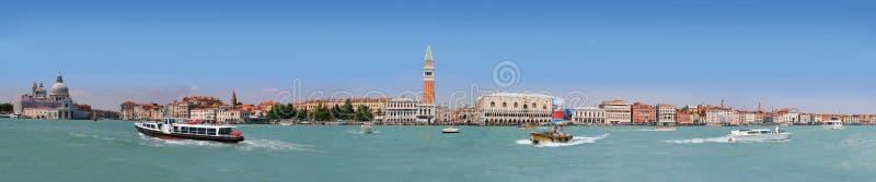 Panorama av den Venedig lagun royaltyfri bild