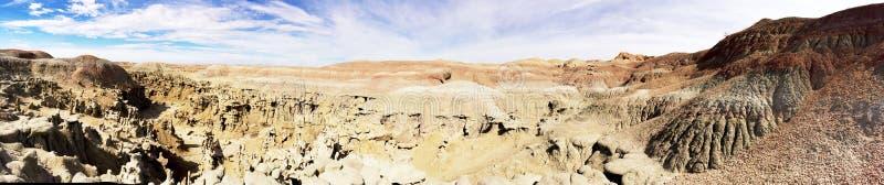 Panorama av fantasikanjonområde i Utah royaltyfria bilder