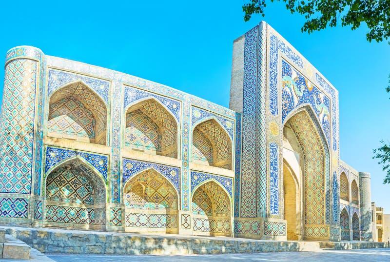 Panorama av madrasahen fotografering för bildbyråer