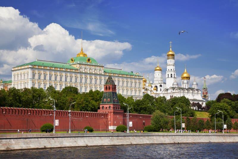 Panorama av MoskvaKreml arkivbilder