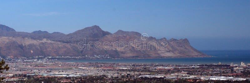 Panorama- av tråden, Sydafrika fotografering för bildbyråer