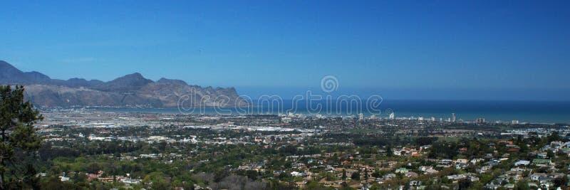 Panorama- av tråden, Sydafrika arkivfoto