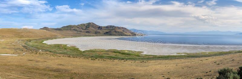 Panorama av White Rock Bay i nationalparken Antelope arkivfoto