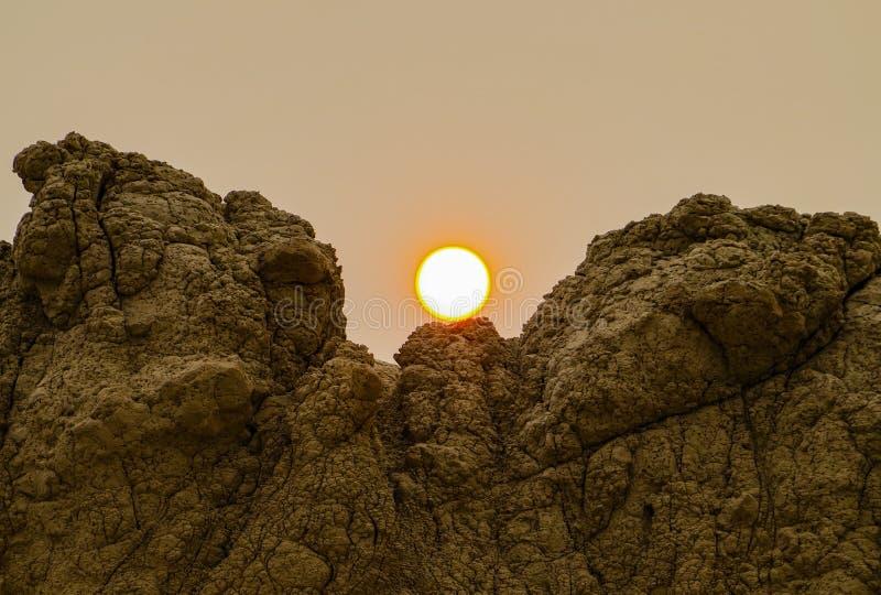 Panorama Badlands National Park, South Dakota, USA royalty free stock photos