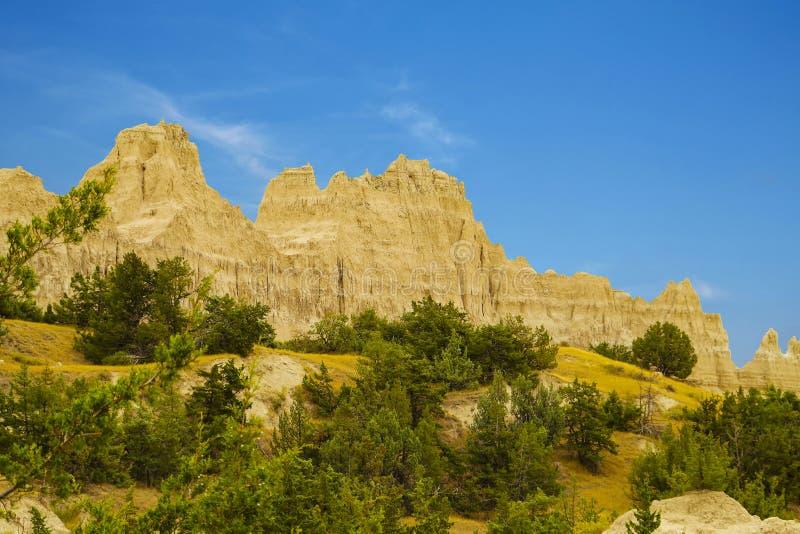 Panorama Badlands National Park, South Dakota, USA stock image