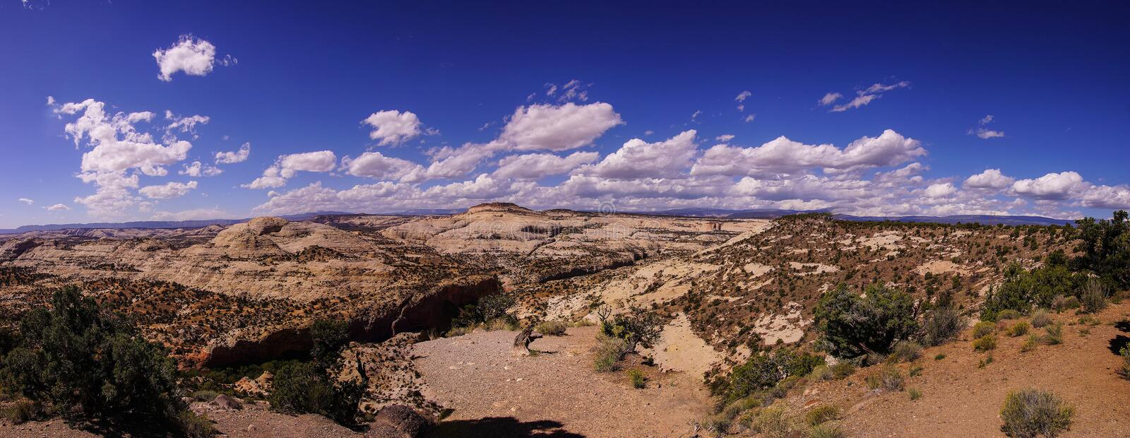 Panorama, badlands royalty free stock photography
