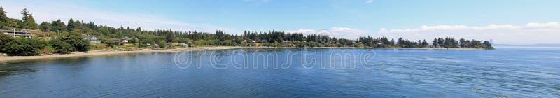 Panorama Of Bainbridge Island Stock Photography