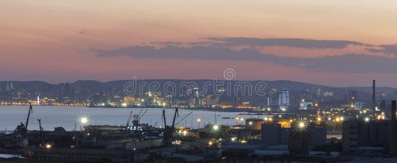 Panorama Baku fotos de stock