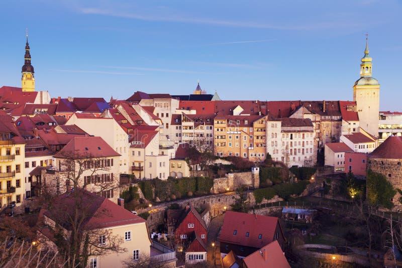 Panorama Bautzen obraz stock