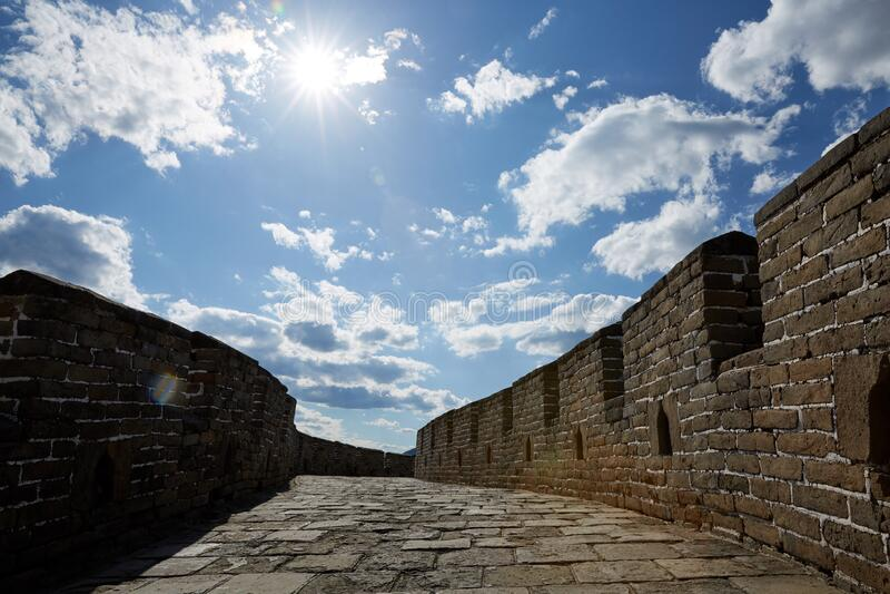 Bejing Mutianyu Great Wall, China royalty free stock images