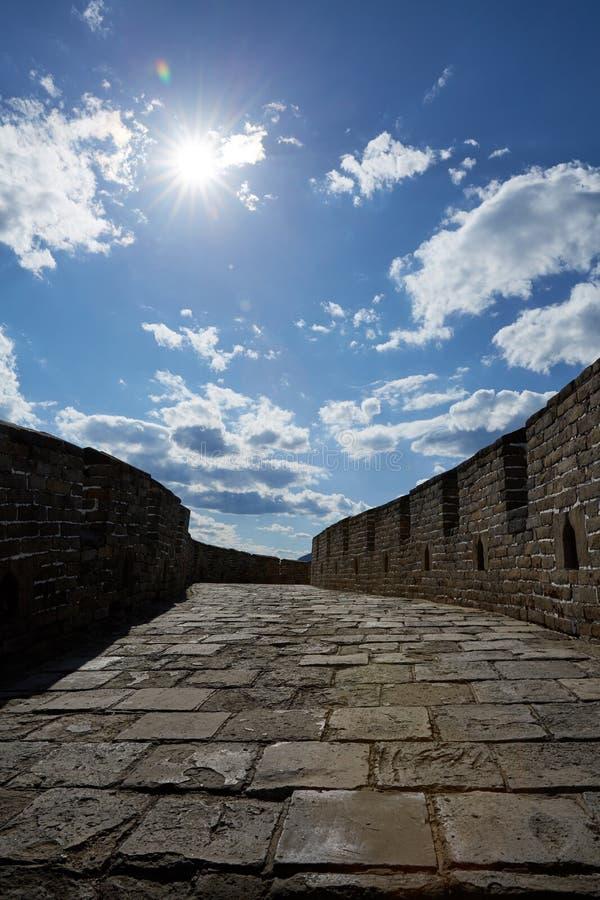 Bejing Mutianyu Great Wall, China royalty free stock photography