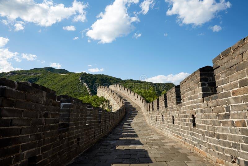 Bejing Mutianyu Great Wall, China royalty free stock image