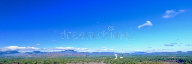 panorama- berg arkivfoton