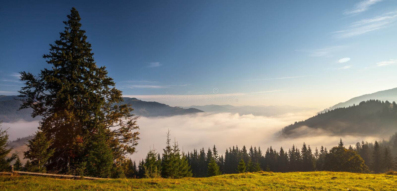 Download Panorama bleu de montagnes photo stock. Image du côtes - 45353888