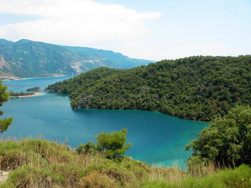 Download Panorama Of Blue Lagoon And Beach Oludeniz Turkey Stock Image - Image: 26622007