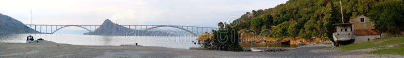 panorama bridge zdjęcie stock