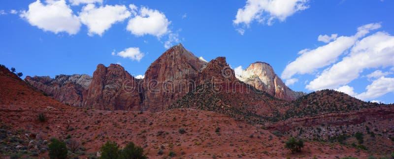 Panorama Bryce Canyon Mountains image stock