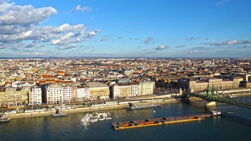 Panorama Budapest Węgry zdjęcia stock