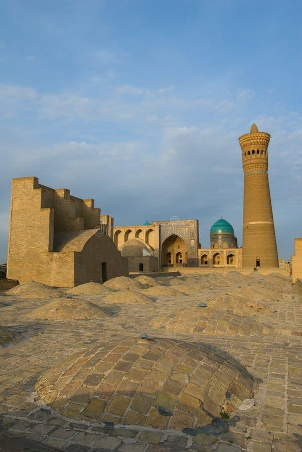 Panorama Bukhara, Uzbekistan obrazy royalty free
