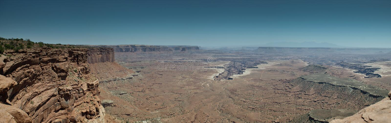Download Panorama Canyonlands stock image. Image of nature, states - 25371027