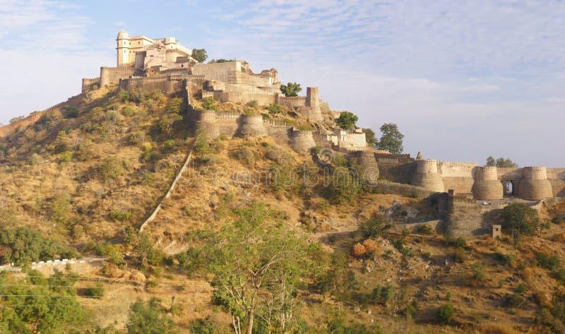 Panorama, castello fotografie stock