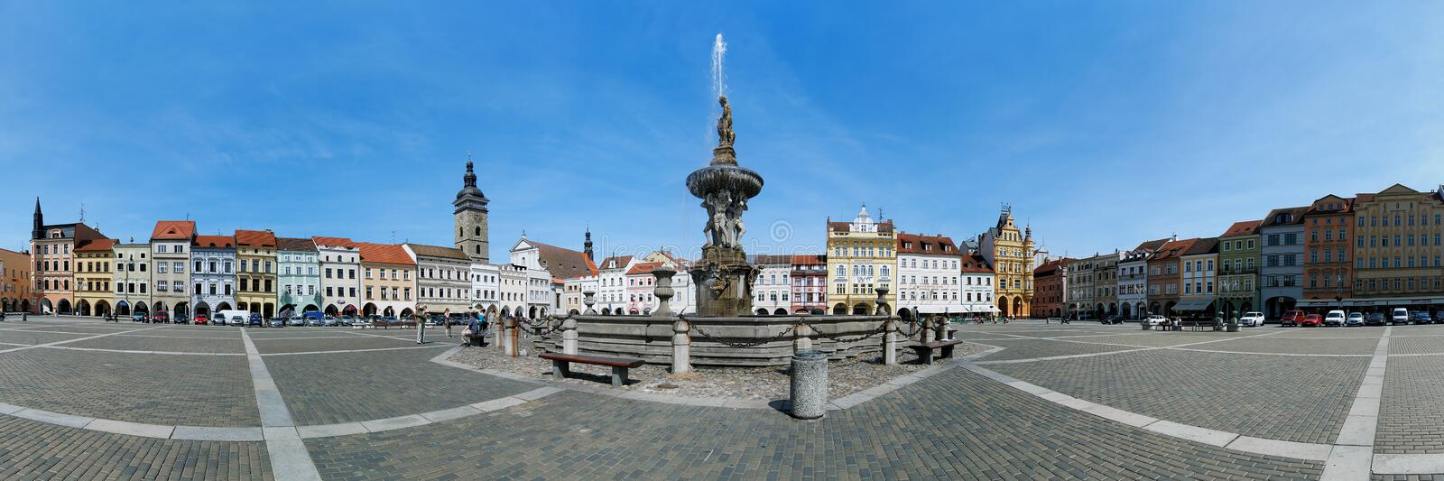 Download Panorama Of The Central Square Of Ceske Budejovice Editorial Photo - Image: 23607806