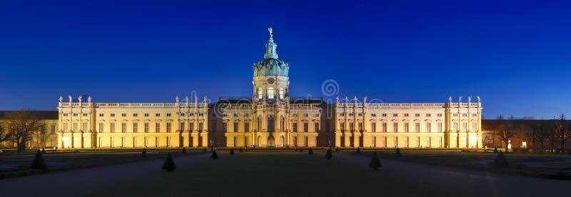 Panorama charlottenburg in berlin royalty free stock photos