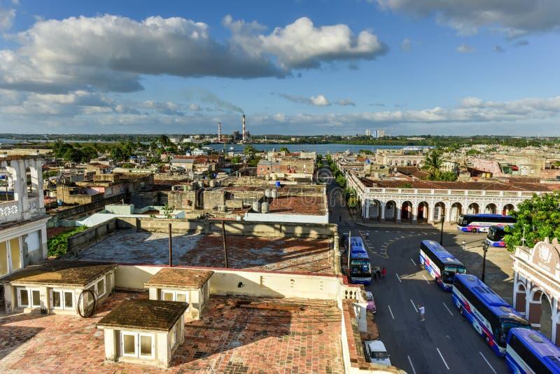 Panorama - Cienfuegos, Cuba photos stock
