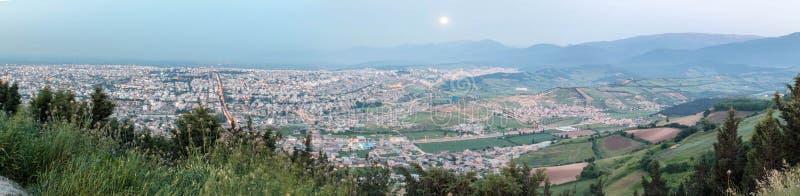 Gorgan, Iran. Panorama on the city of Gorgan located in northern Iran royalty free stock photography