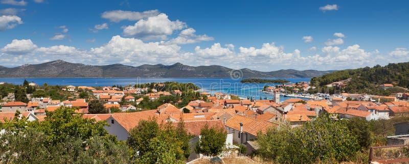Download Panorama Of City Of Veli Iz, Croatia Stock Photo - Image: 23534302