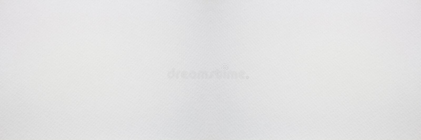 Panorama of Clean white paper texture. High resolution photo royalty free stock photography