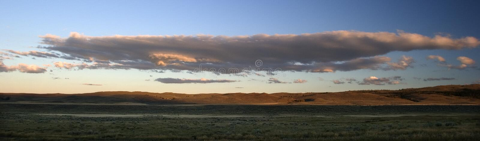 Download Panorama Of Clouds Over Ranchlands, Montana. Stock Photo - Image: 772518
