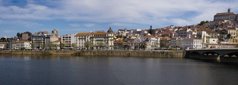 Panorama Coimbra Portugal stock fotografie