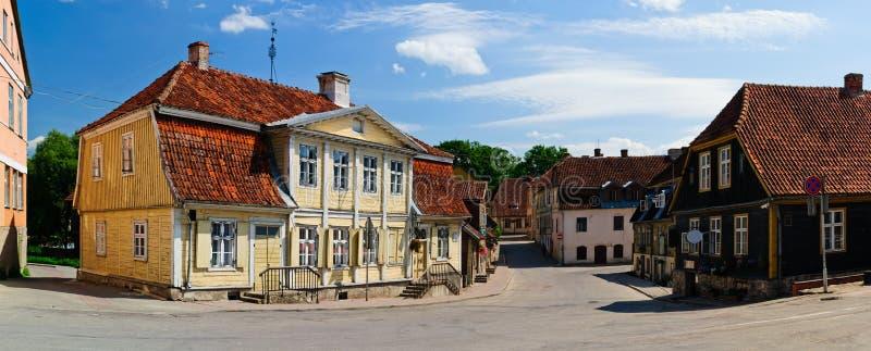 Kuldiga, Lettonia immagini stock
