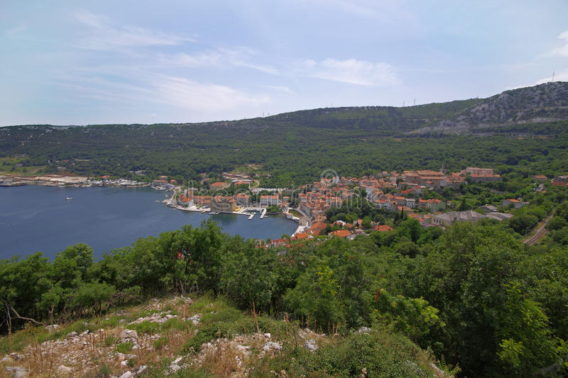 Download Panorama croata imagen de archivo. Imagen de abierto - 42425517