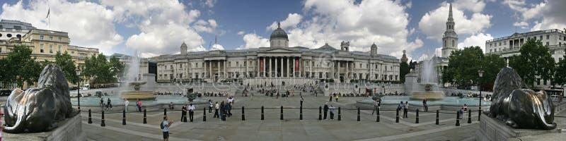 Panorama cuadrado de Trafalgar imágenes de archivo libres de regalías